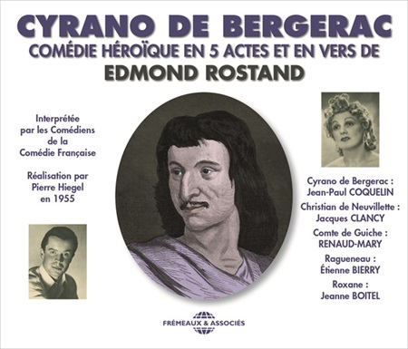 cyrano de bergerac com die h ro que en 5 actes et en vers edmond rostand livres sonores. Black Bedroom Furniture Sets. Home Design Ideas
