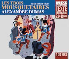 LES TROIS MOUSQUETAIRES - ALEXANDRE DUMAS - (INTEGRALE MP3)