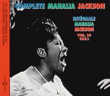 INTÉGRALE VOL. 15 - 1961 - MAHALIA SINGS PART 2