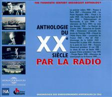 ANTHOLOGIE DU XX eme SIECLE