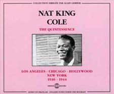 NAT KING COLE - QUINTESSENCE VOL 1