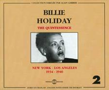 BILLIE HOLIDAY - QUINTESSENCE VOL 2