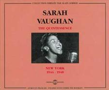SARAH VAUGHAN - QUINTESSENCE