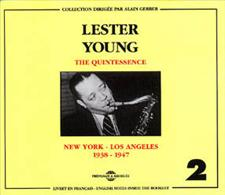 LESTER YOUNG - QUINTESSENCE VOL 2