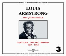 LOUIS ARMSTRONG - QUINTESSENCE VOL 3