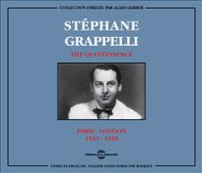 STEPHANE GRAPPELLI - THE QUINTESSENCE