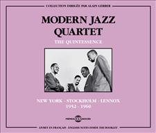 MODERN JAZZ QUARTET - MJQ - THE QUINTESSENCE