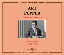 ART PEPPER - THE QUINTESSENCE