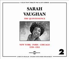 SARAH VAUGHAN - VOL2 - THE QUINTESSENCE