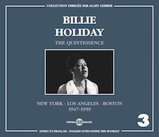 BILLIE HOLIDAY - THE QUINTESSENCE - VOL 3
