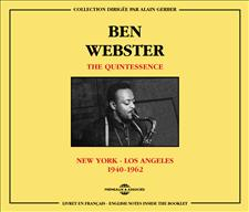BEN WEBSTER - THE QUINTESSENCE