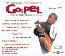 4eme FESTIVAL DE GOSPEL A PARIS 1997 (2 CD)