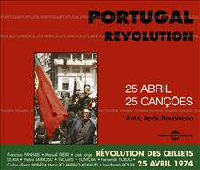PORTUGAL REVOLUTION 25 ABRIL - 25 CANCOES - ANTES, APOS REVOLUCAO