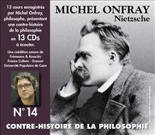 CONTRE-HISTOIRE DE LA PHILOSOPHIE VOL. 14 - MICHEL ONFRAY