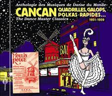 CANCAN, QUADRILLES, GALOPS, POLKAS RAPIDES - 1951-1959