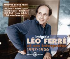 LÉO FERRÉ ET SES INTERPRÈTES 1947-1956