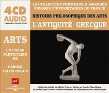 ARTS - L'ANTIQUITÉ GRECQUE - UN COURS PARTICULIER DE CAROLE TALON-HUGON
