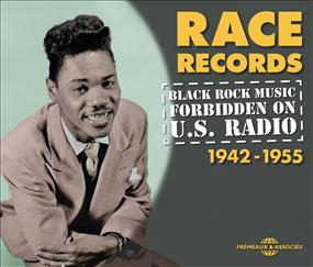 BLACK ROCK MUSIC FORBIDDEN ON U.S. RADIO 1942-1955