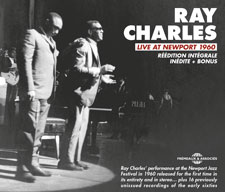 RAY CHARLES - LIVE AT NEWPORT 1960