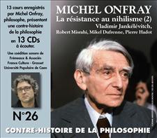 CONTRE-HISTOIRE DE LA PHILOSOPHIE VOL.26 - MICHEL ONFRAY