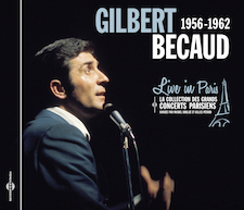 GILBERT BECAUD - LIVE IN PARIS 1956-1962