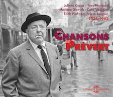 CHANSONS DE JACQUES PRÉVERT 1934-1962