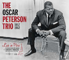 THE OSCAR PETERSON TRIO - LIVE IN PARIS 1957-1962