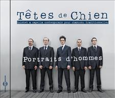 TÊTES DE CHIEN - PORTRAITS D'HOMMES