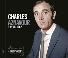 CHARLES AZNAVOUR - LIVE IN PARIS - 3 AVRIL 1962