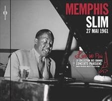 MEMPHIS SLIM LIVE IN PARIS