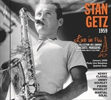 STAN GETZ - LIVE IN PARIS, 1959