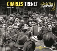 CHARLES TRENET - LIVE IN PARIS