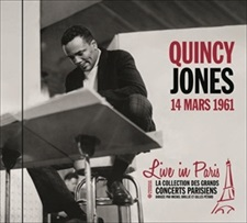 QUINCY JONES - LIVE IN PARIS 1961