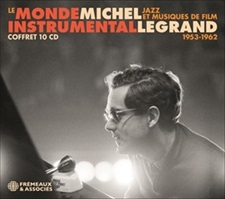 MICHEL LEGRAND - LE MONDE INSTRUMENTAL (COFFRET 10 CD)