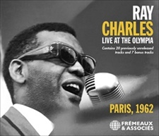 RAY CHARLES - LIVE AT THE OLYMPIA - PARIS, 1962