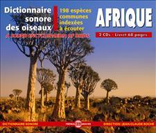 DICTIONNAIRE SONORE DES OISEAUX D'AFRIQUE