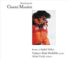 TOMBEAU DE CHANTAL MAUDUIT - ANDRE VELTER