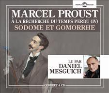 SODOME ET GOMORRHE - À LA RECHERCHE DU TEMPS PERDU VOL 4 - MARCEL PROUST