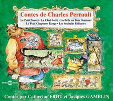 LE PETIT POUCET - LE CHAT BOTTE - LA BELLE AU BOIS DORMANT - LE PETIT CHAPERON ROUGE