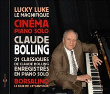 CINÉMA PIANO SOLO, 21 CLASSIQUES DE CLAUDE BOLLING EN PIANO SOLO