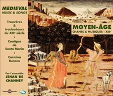 MOYEN-AGE - TROUVERES & TROUBADOURS DU XIIIe
